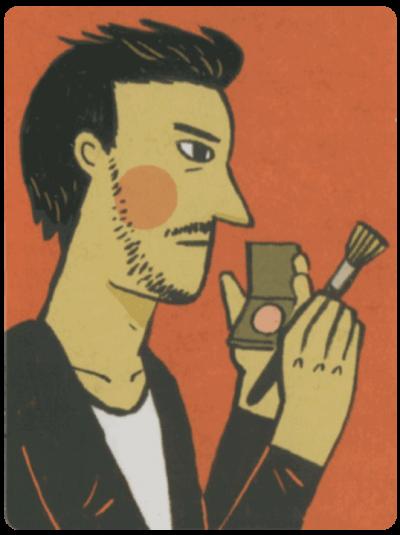 不簡單的生活人物卡-彩妝師大哥-min