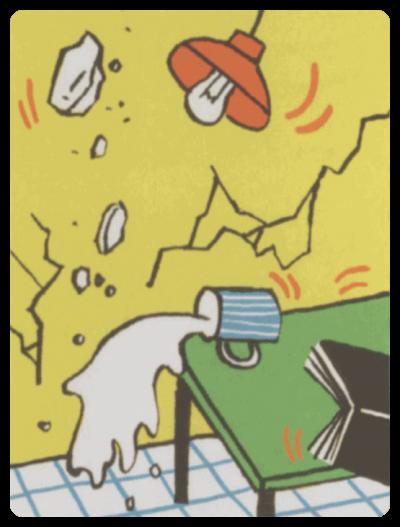 不簡單的生活生活卡-地震-min