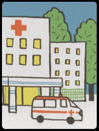 不簡單的生活生活卡-醫院-min
