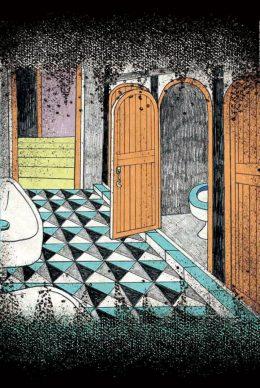 魔法學園場地卡-廁所-min